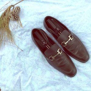 Salvatore Ferragamo bit loafers brown